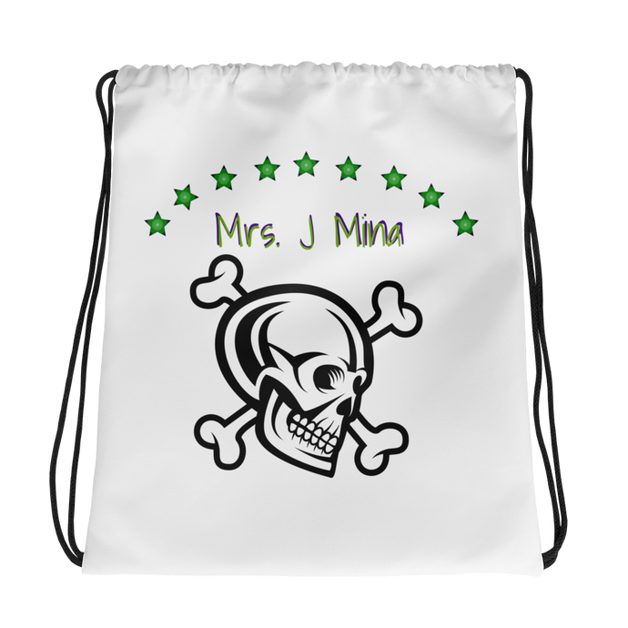 Mrs_J_Mina Drawstring Backpack