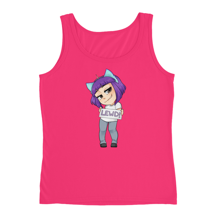 BB_NotYourWaifu Tank-top