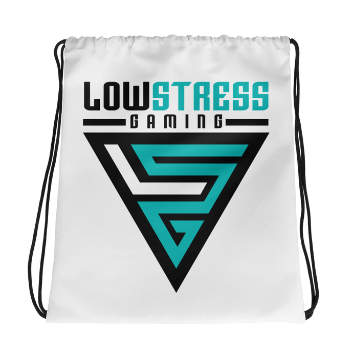 Low Stress Gaming Drawstring Backpack