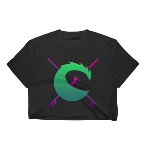 Celtic Surfer Gaming Crop-top