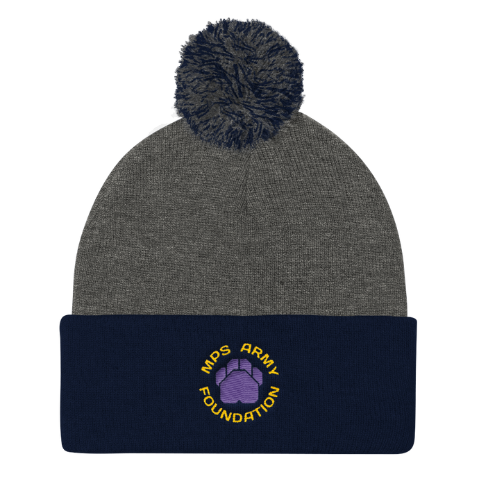 MPS Army Foundation Pom Pom Cap