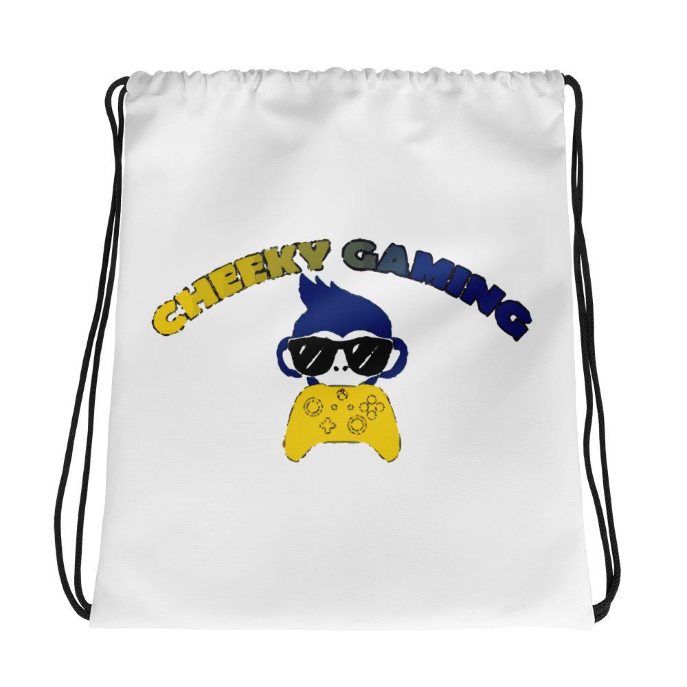 CheekyGaming Drawstring Backpack