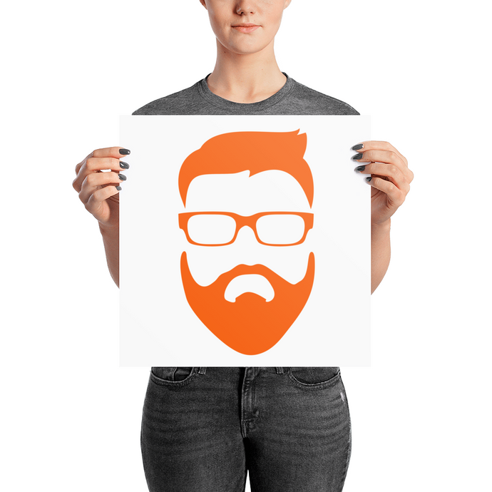 Fear The Beard Luster Posters