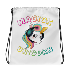 MagickUnicorn Drawstring Backpack