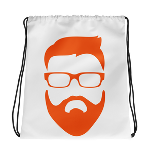 Fear The Beard Drawstring Backpack