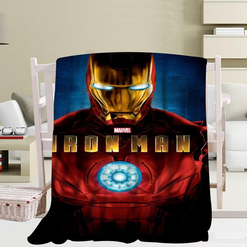 Iron Man, Tony Stark, Superhero Blanket - Mermaid Freak
