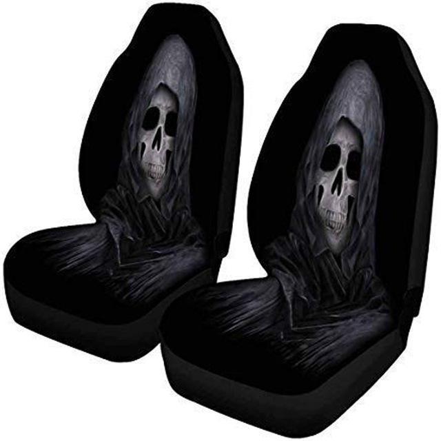 Halloween Car Seat Cover, The Reaper Protector Case - Mermaid Freak