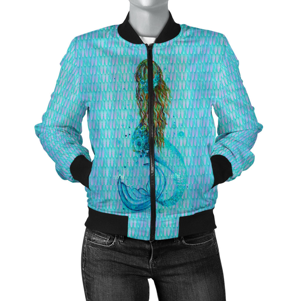 KN7499-WOMAN JACKET - Mermaid Freak