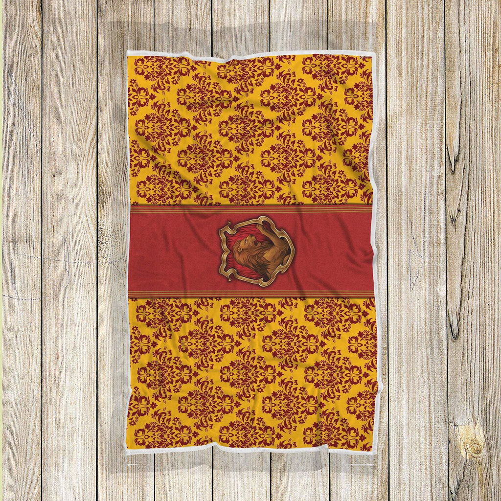 Gryffindor Blanket, Harry Pottery Blanket, Hogwarts Wizard Geek Movie Blanket, Harry Potter Decor - Mermaid Freak