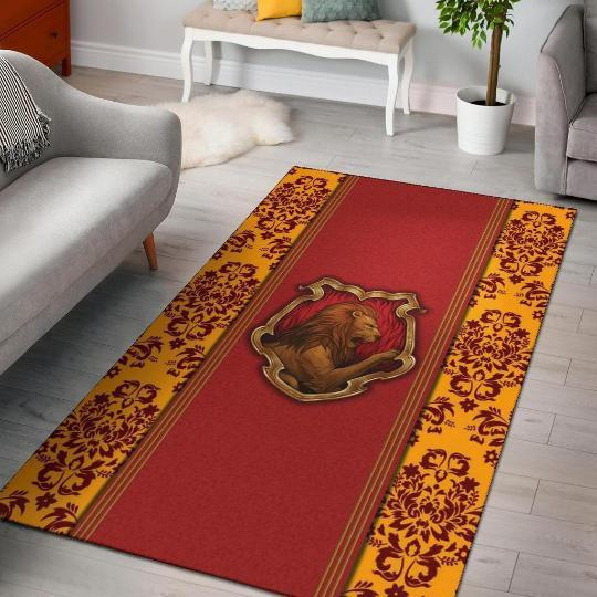 Harry Potter Gryffindor Rug, Harry Potter Gryffindor Gifts - Mermaid Freak