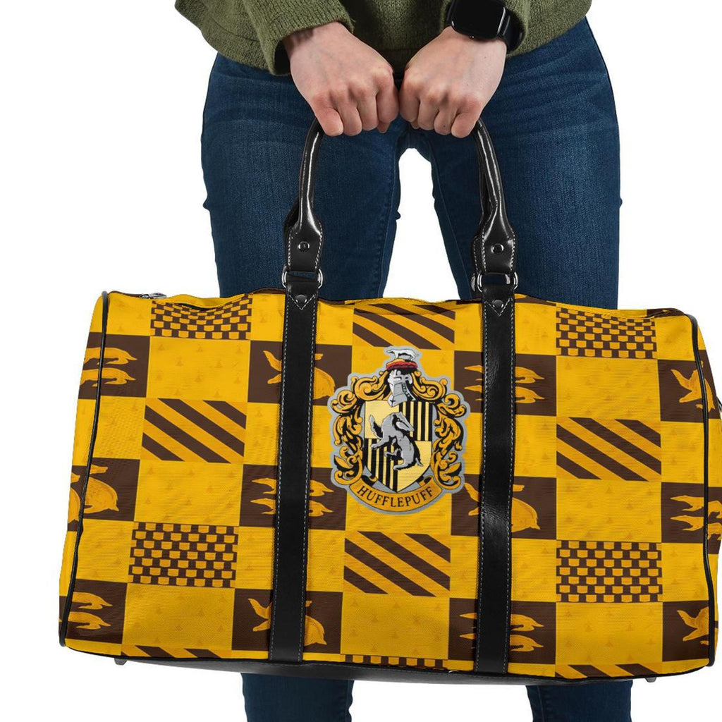 Harry Potter Hufflepuff Travel Bag, Hufflepuff Gifts - Mermaid Freak