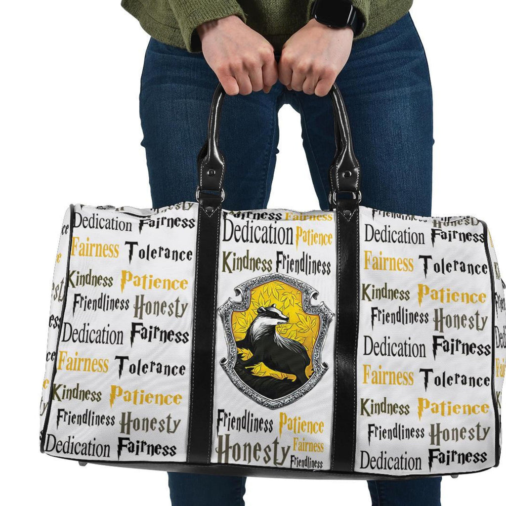 Harry Potter Series Hufflepuff Travel Bag - Mermaid Freak