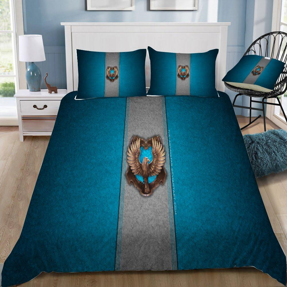 Harry Potter Series RavenClaw 3pcs Duvet Cover Set - Mermaid Freak