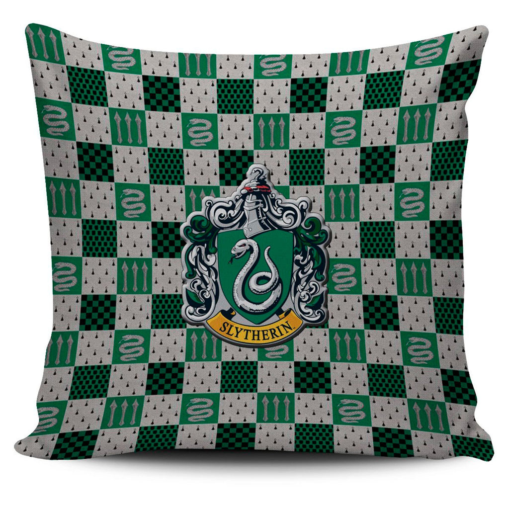 Harry Potter Series Slytherin Pillow Cover, Slytherin Gifts - Mermaid Freak