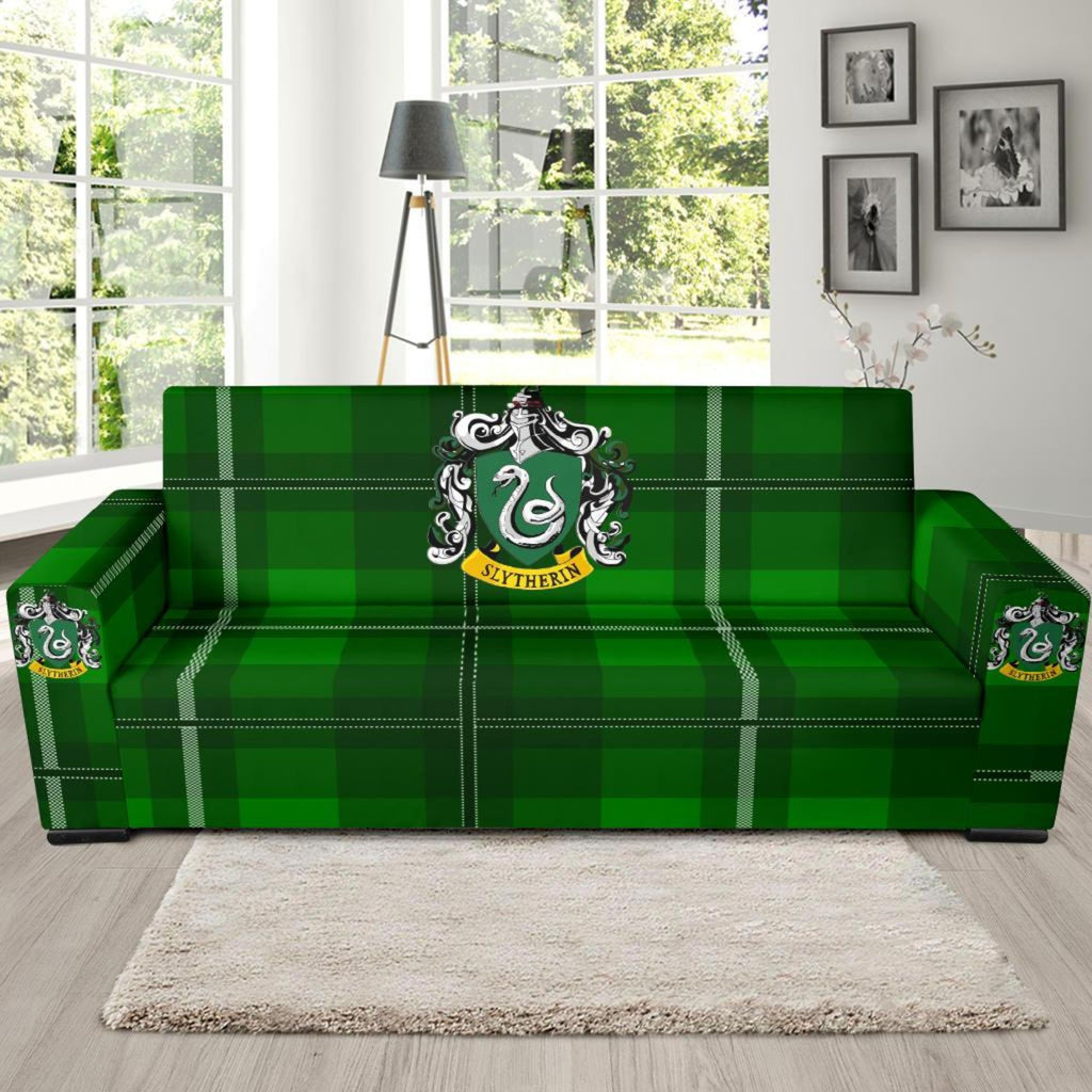 Harry Potter Series Slytherin Sofa Cover, Slytherin Gifts - Mermaid Freak