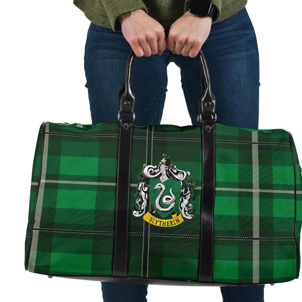 Harry Potter Series Slytherin Travel Bag, Slytherin Gifts - Mermaid Freak