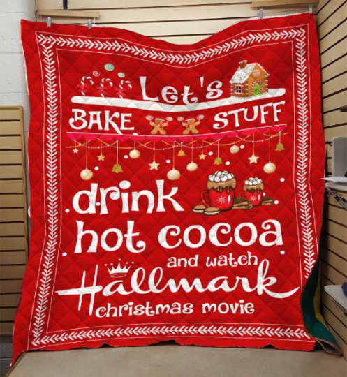 Drink Hot Cocoa And Watch Hallmark Christmas Movie Blanket - Mermaid Freak