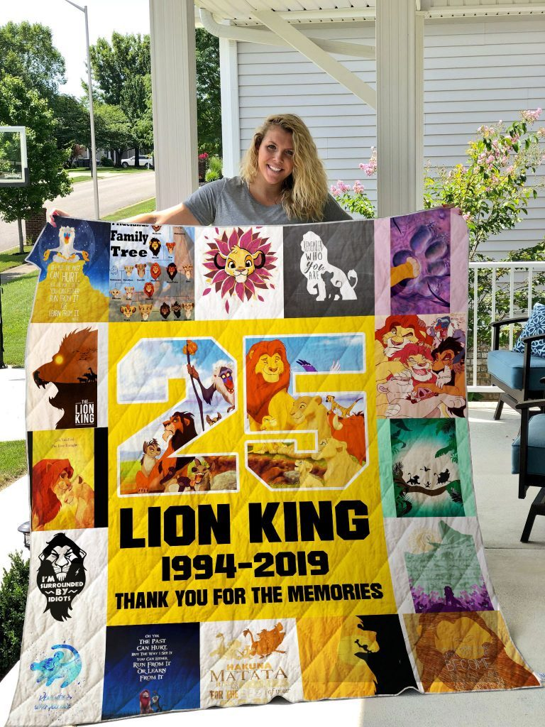 Lion King Memories Blanket, Lion King Cartoon Character Blanket, Blanket for Cartoon Character Lovers, NS1 - Mermaid Freak