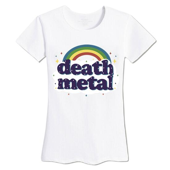 Death Metal Rainbow  T-Shirt - Mermaid Freak