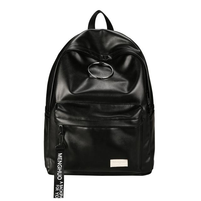 Rose Leather Unisex Backpack - Mermaid Freak