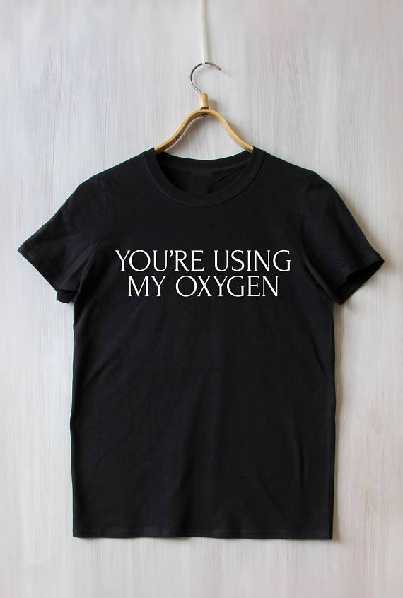 You're Using My Oxygen Women's T-Shirt (Plus Size Friendly) - Mermaid Freak