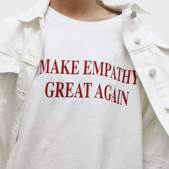 Make Empathy Great Again Women's T-Shirt - Mermaid Freak