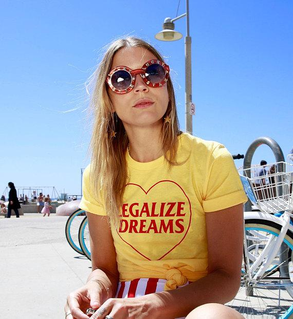 Legalize Dreams Tumblr T-Shirt - Mermaid Freak