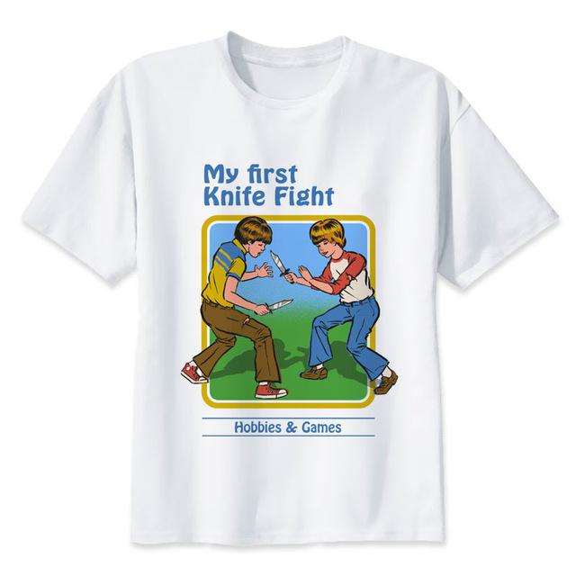 My First Knife Fight T-Shirts - Mermaid Freak