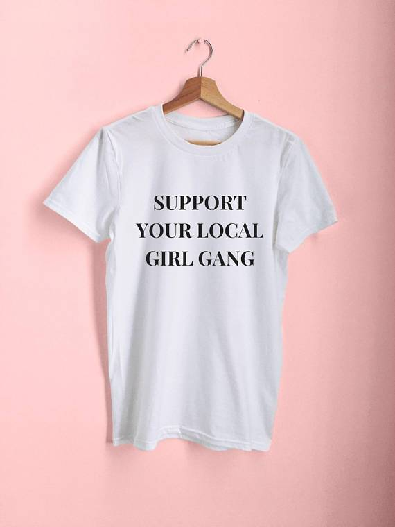 Support Your Local Girl Gang Women's  T-Shirts - Mermaid Freak