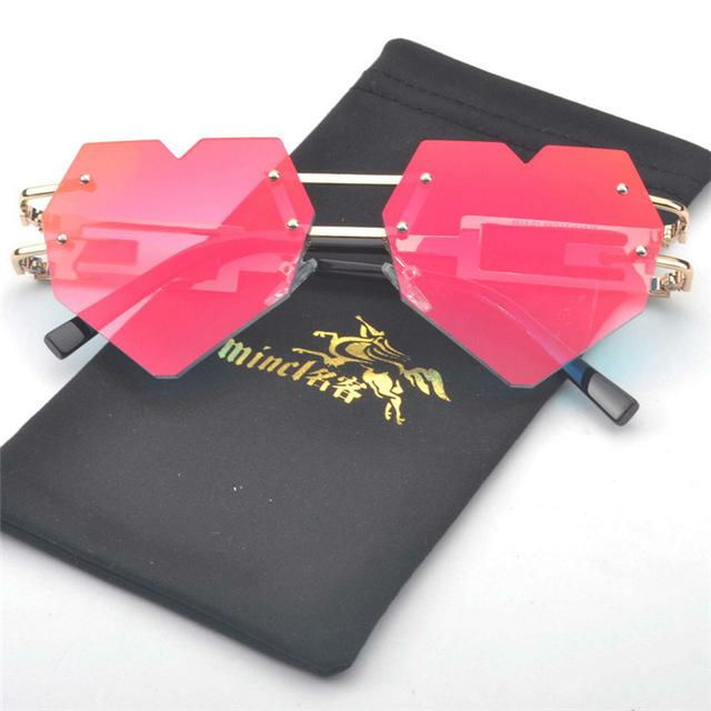 Heart Shaped Sunglasses - Mermaid Freak