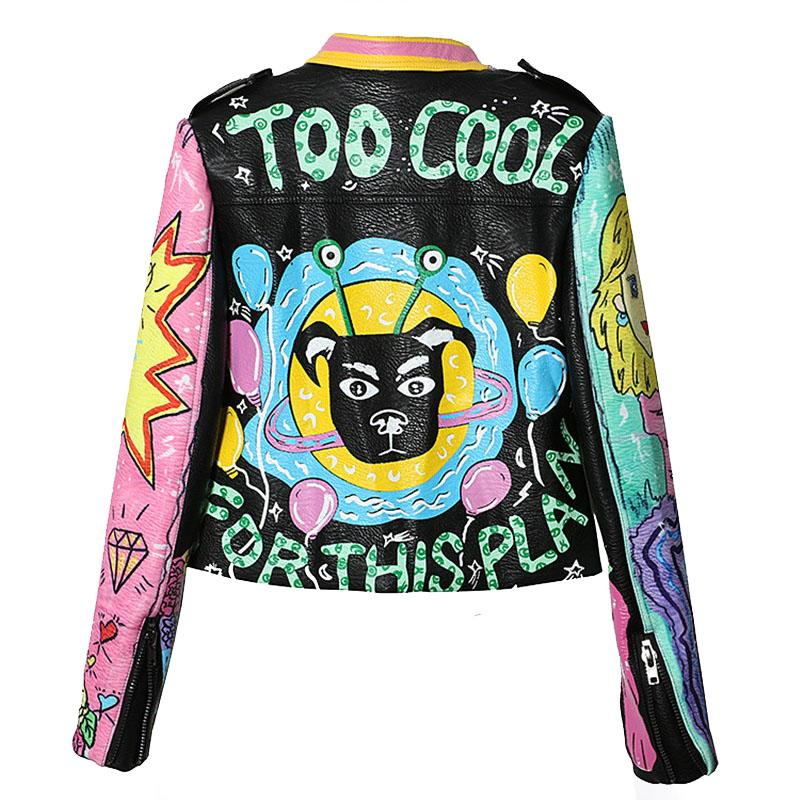 Too Cool For This Plan Leather Jacket - Mermaid Freak