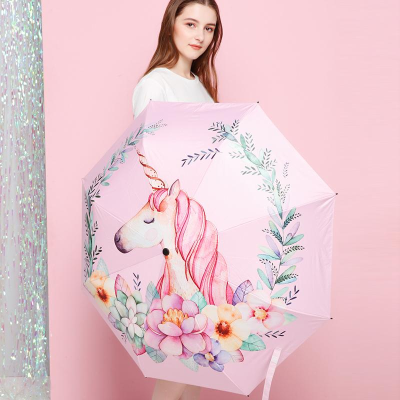Unicorn Nordic Pastel Umbrella - Mermaid Freak