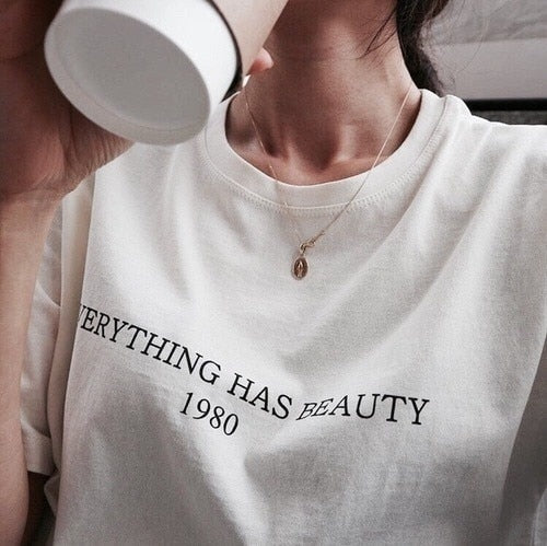 Everything Has Beauty 1980  T-Shirt - Mermaid Freak