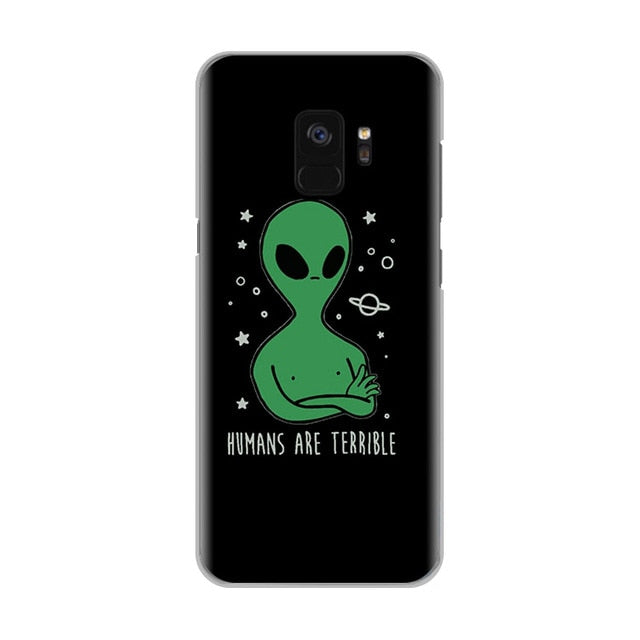 Alien Hippie Aesthetic Samsung Phone Case - Mermaid Freak