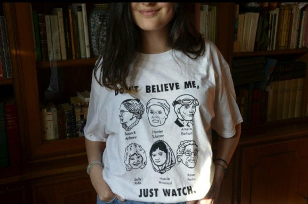 """Don't Believe Me, Just Watch"" Tee - Mermaid Freak"