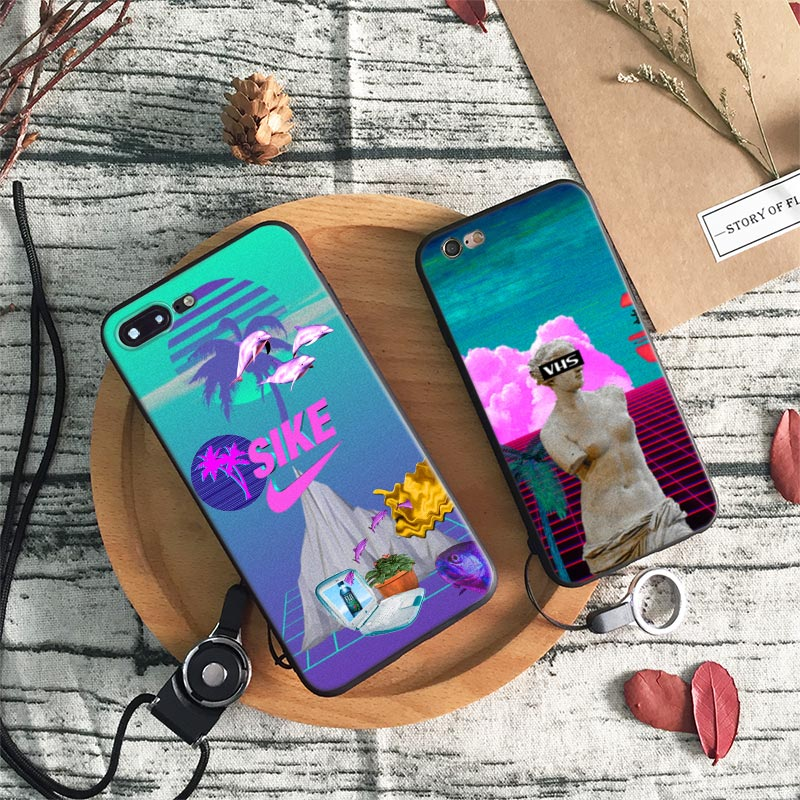 Aesthetic Vaporwave Pop Art Phone Case - Mermaid Freak