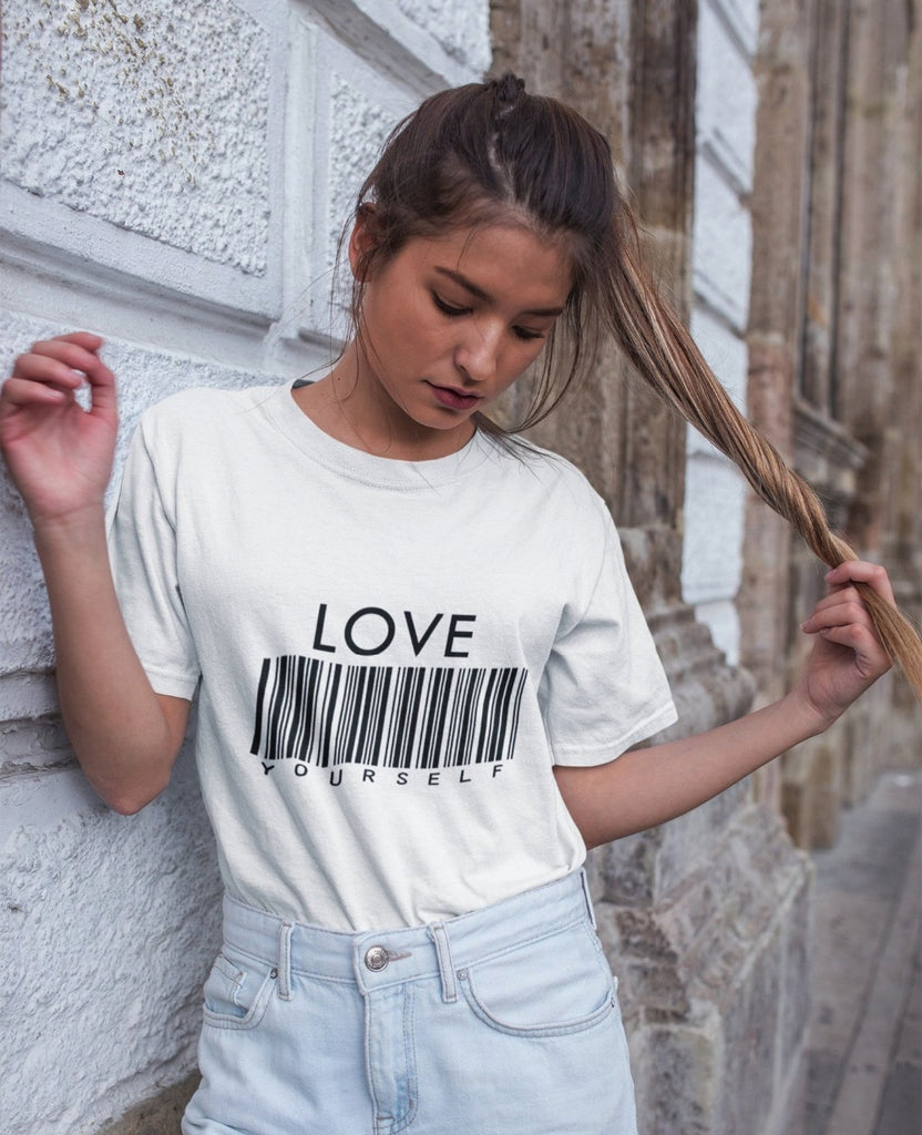 Love Yourself Barcode Tee - Mermaid Freak