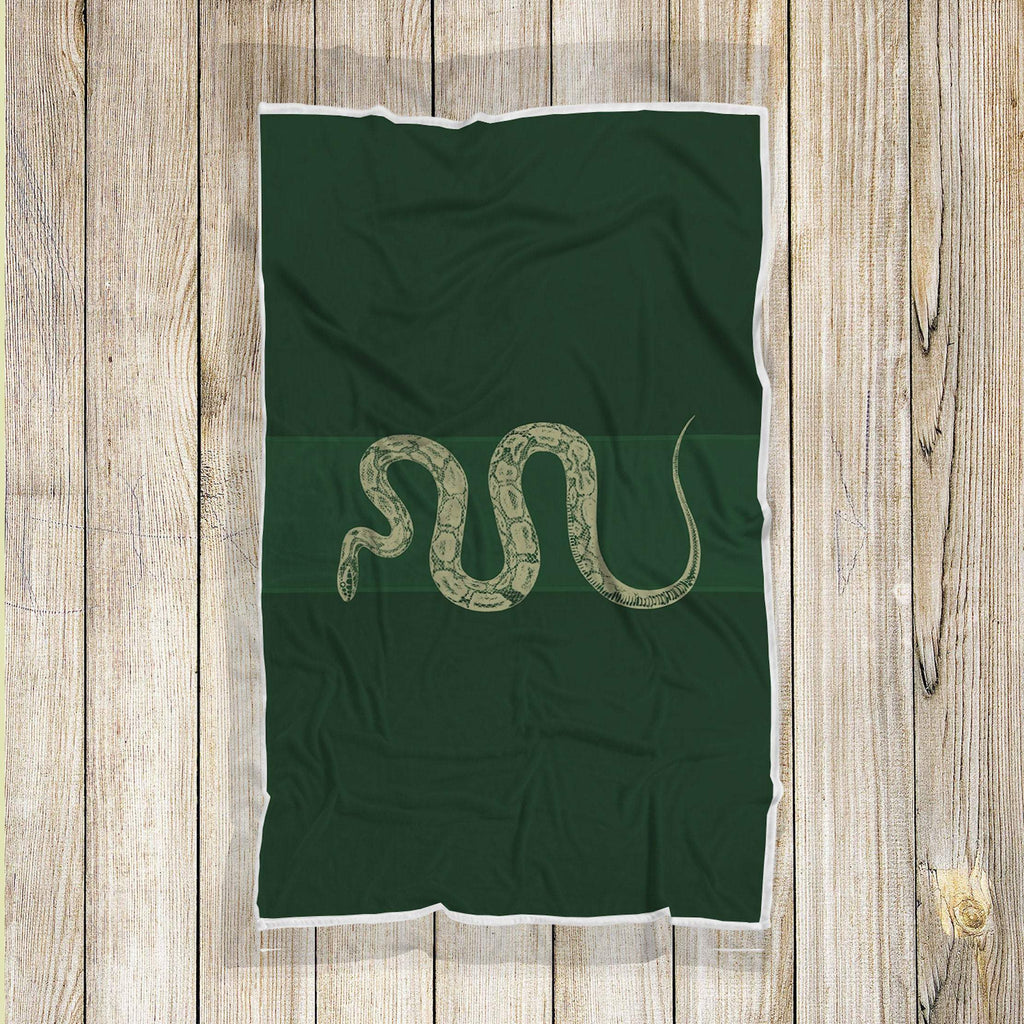 Slytherin Blanket, Harry Potter Blankets, Hogwarts Wizard Geek Movie Blanket, Harry Potter Gifts, Slytherin Gifts, Slytherin Decors - Mermaid Freak