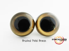 Brushed Metal Craft Eyes by the Pair