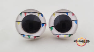 Christmas Lights Craft Eyes