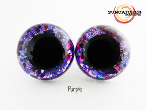 Double Glitter Craft Eyes by the Pair