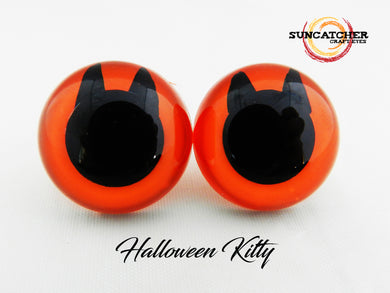 Halloween Kitty Craft Eyes
