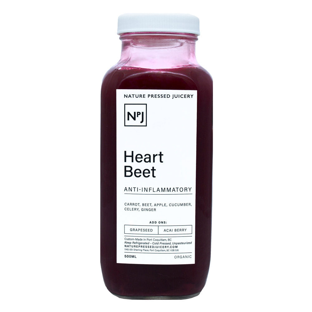 Heart Beet - Nature Pressed Juicery