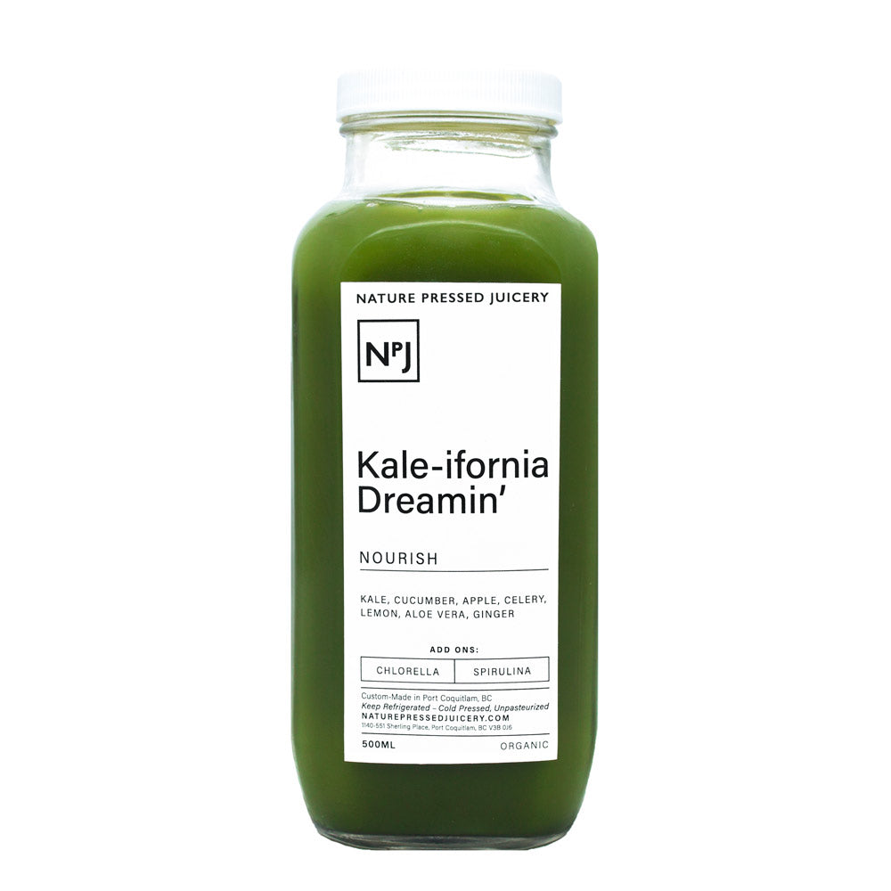 Kale-ifornia Dreamin - Nature Pressed Juicery