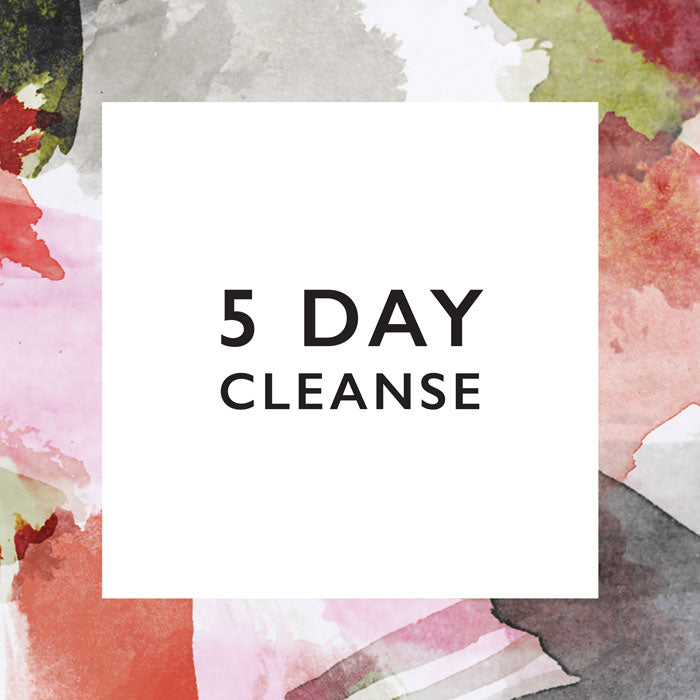5 Day Cleanse with Nature Pressed Juicery