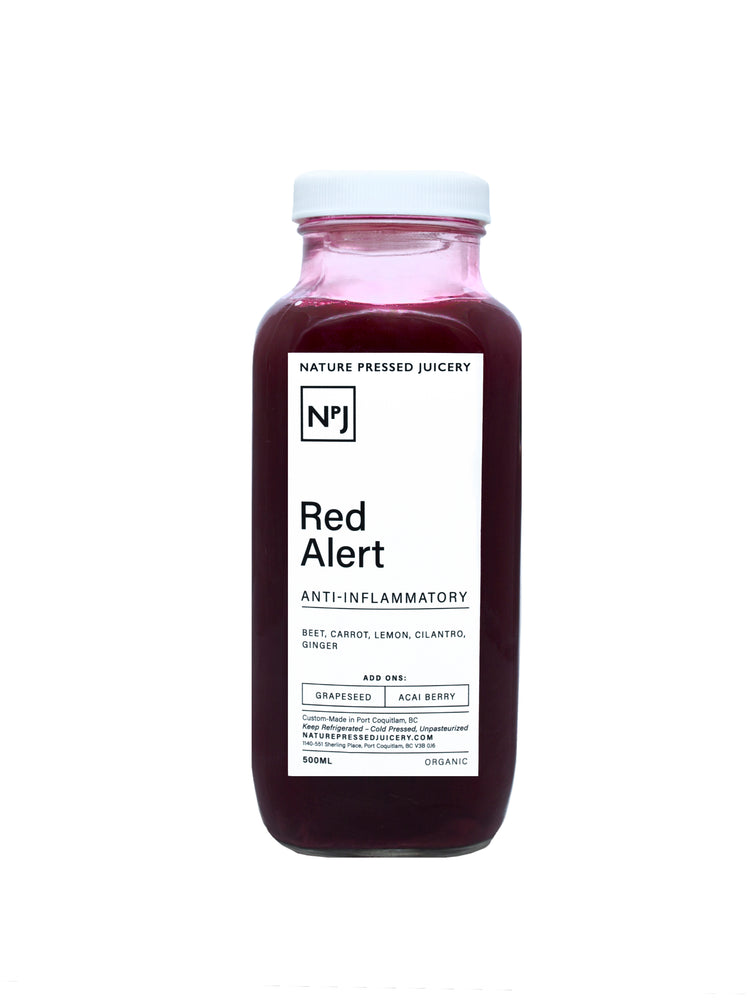 Red Alert - Nature Pressed Juicery