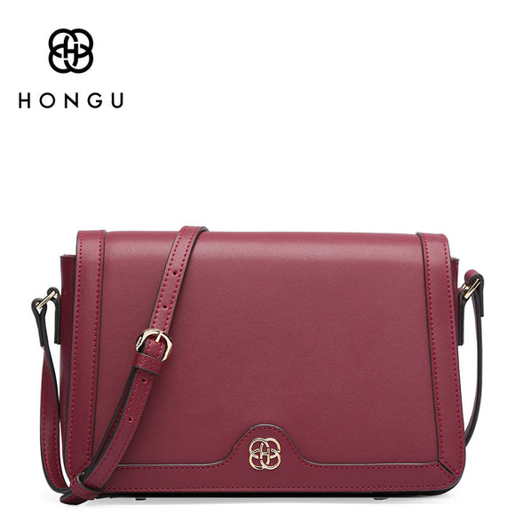 2018 Women Messenger Bags Genuine Cow Leather
