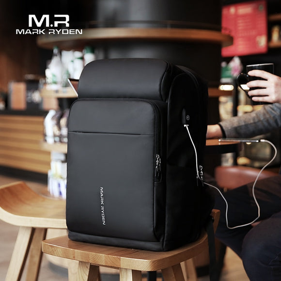Mark Ryden Large Capacity Waterproof USB Charging Backpack