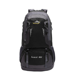 60L Outdoor Hiking Waterproof Backpack