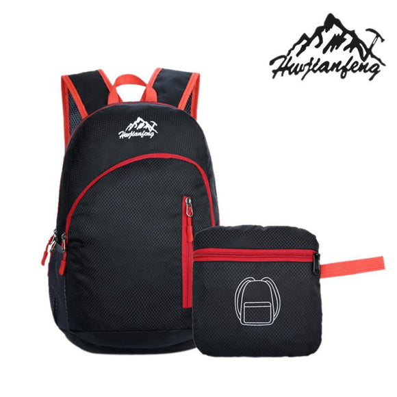 Waterproof Nylon Travel Backpack Hike Camp Climb